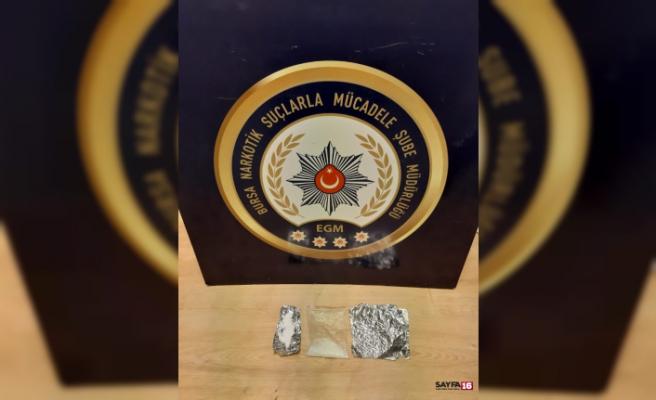 Bursa narkotik operasyonu: 18 gözaltı
