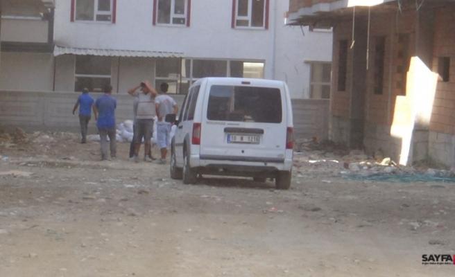 Edremit'te inşaatın 3. katından düşen işçi öldü