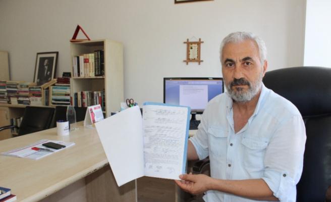 Gazeteciye uzaklaştırma cezası