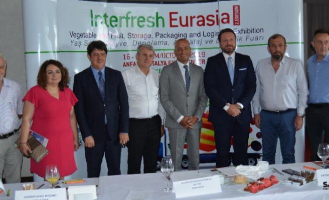Interrfresh Eurasia Fuarı tanıtıldı