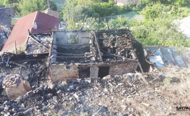 Çorum'da ev yangını: 2 ölü