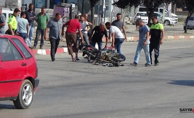 İnegöl'de dehşet veren kaza: 1'i ağır 2 yaralı