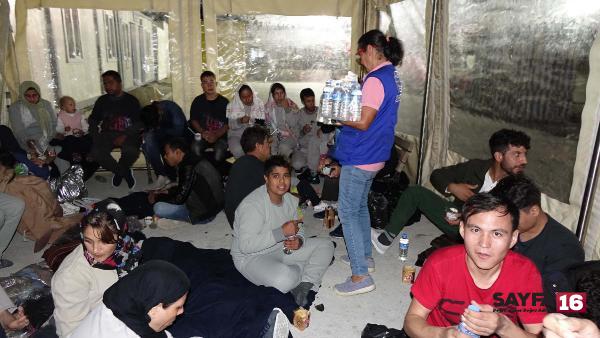 Çanakkale'de 94 kaçak göçmen yakalandı