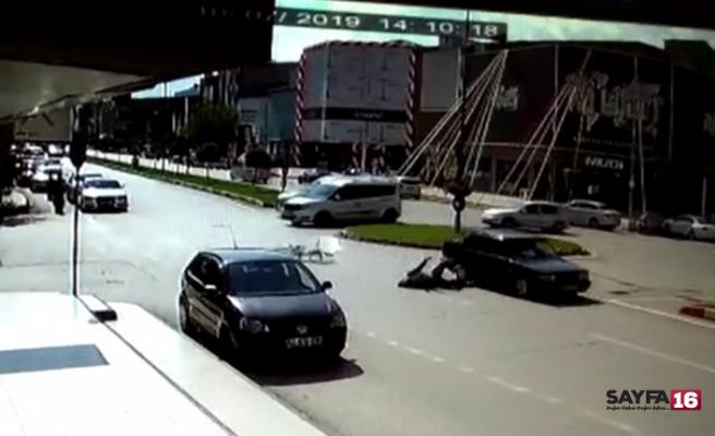 Bursa'da kaza...40 metre sürüklendi