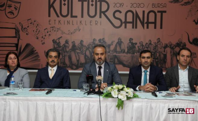 Bursa'nın nabzı kültür sanatla atacak