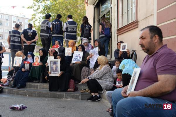 HDP önündeki eylemde 32'nci gün