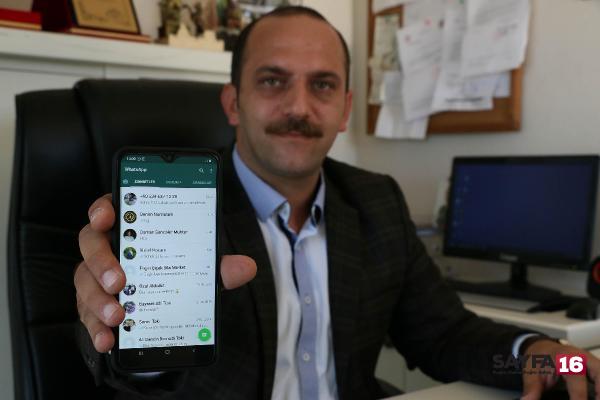 Muhtara sorunlarını WhatsApp ihbar hattından iletiyorlar
