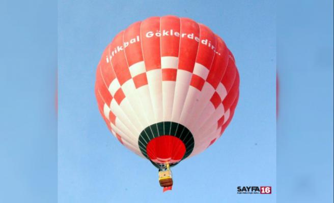 Türkiye'nin ilk yerli sıcak hava balonu, Kapadokya semalarında