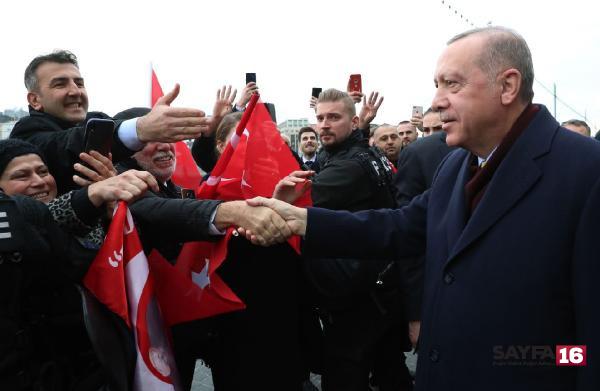 Erdoğan'a Cenevre'de yoğun ilgi