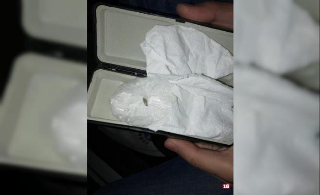 İnfaz koruma memuru uyuşturucu ile yakalandı