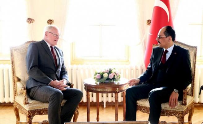 Cumhurbaşkanı Sözcüsü Kalın, ABD'nin Suriye Özel Temsilcisi Jeffrey ile görüştü