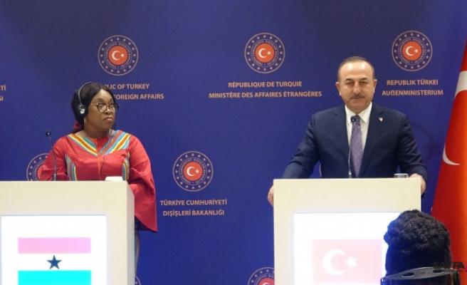 """Dışişleri Bakanı Mevlüt Çavuşoğlu: """"Rus dostlarımızdan beklentimiz  Hafter'i bu ikna etmeleridir"""""""