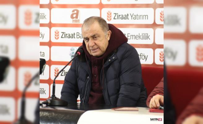 """Fatih Terim: """"Rizespor ile içeride oynamak kolay değil"""""""