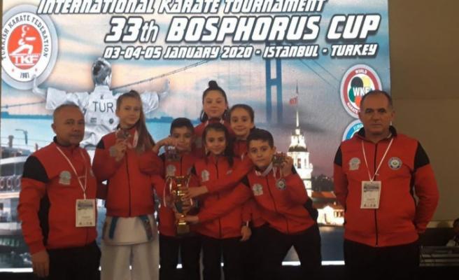 Nilüferli karatecilerden uluslararası başarı