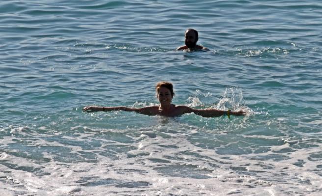 Ocak ayında deniz keyfi