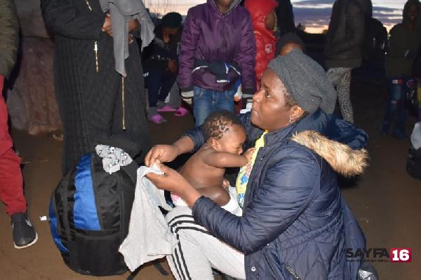 İzmir'de göçmen hareketliliği