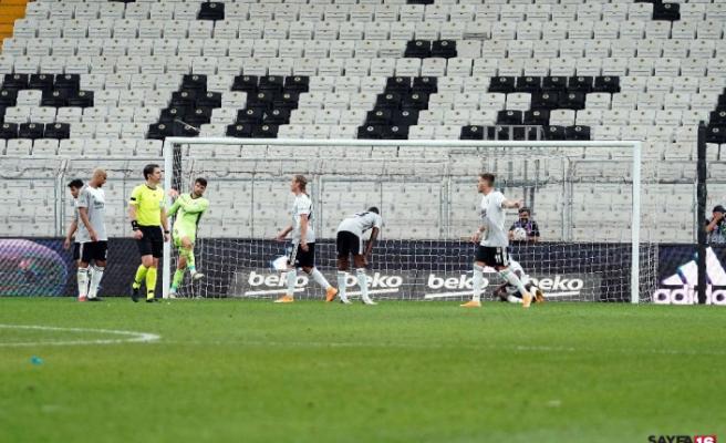 Beşiktaş, Antalya karşısında seriyi bozamadı