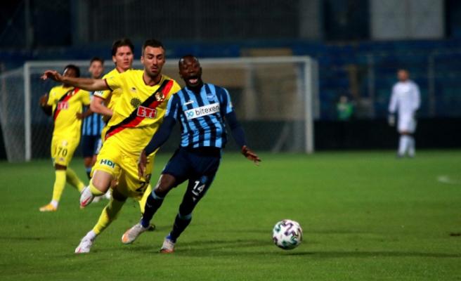 TFF 1. Lig: Adana Demirspor: 0 - Eskişehirspor: 0 (İlk yarı sonucu)