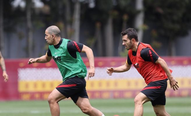 Galatasaray'da Beşiktaş derbisi hazırlıkları başladı
