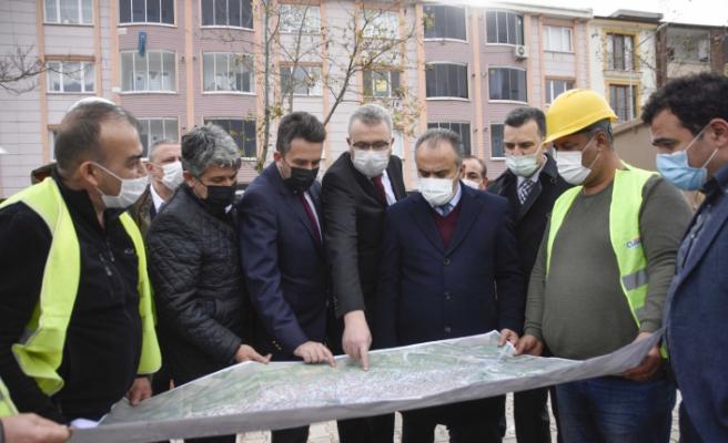Karacabey'de altyapı yatırımları peş peşe