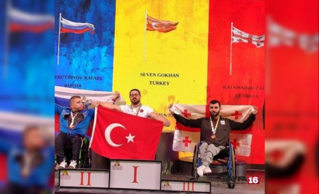 Gökhan Seven, Bilek Güreşi Dünya Şampiyonası'na hazırlanıyor