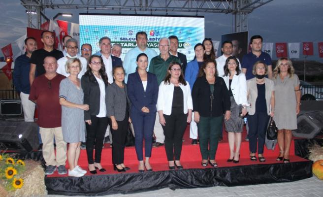 CHP, tarım politikasını Selçuk'tan duyurdu