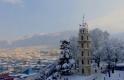 Bursa'ya kar bir başka yakışıyor