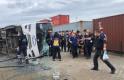 Bursa'da işçi servisi devrildi: 1 kadın işçi öldü 20 işçi yaralandı