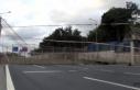 Hasdal Otoyolu'nda üstgeçit çöktü, yol trafiğe...