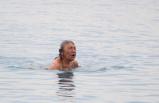 Yurdun büyük bölümü karla mücadelede onlar deniz keyfinde