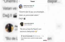 Bakan Soylu'dan HDP'li Buldan'ın paylaşımına Dağ 2'den alıntıyla gönderme