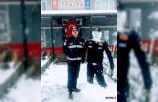 İtfaiyeci kardan adam