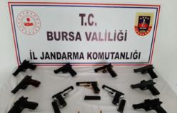 Bursa'da silah kaçakçısına şok baskın