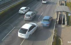 Bursa'da meydana gelen kazalar kameralara yansıdı