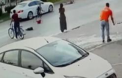 Yaya geçidinde otomobilin çarptığı kız yaralandı