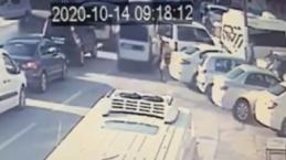 Frene hiç basmadı: Bursa'da kaza anı kamerada