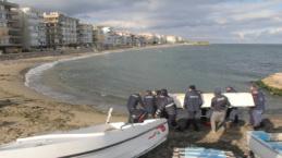Bursa sahillerinde tekne operasyonu
