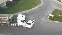 Bu kadarına olmaz dedirten görüntüler: Kazalar göz göre göre yaşanıyor