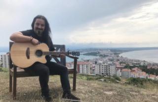 """Artvinli şarkıcı """"Cefa""""sını Sinop'ta çekti"""
