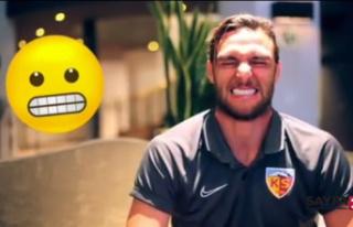 Kayserisporlu futbolcular emojileri gerçek hayata...