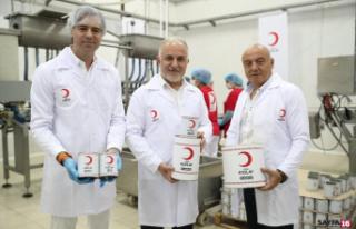 Kızılay 4.5 milyon insana kurban eti ulaştıracak