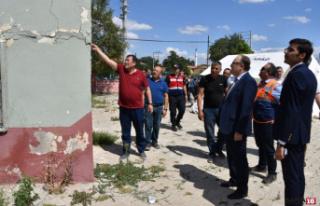 Denizli Depremi'nde Afyonkarahisar'da 224 evde...