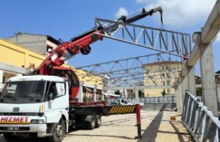 Osmangazi'ye modern bir pazar yeri daha