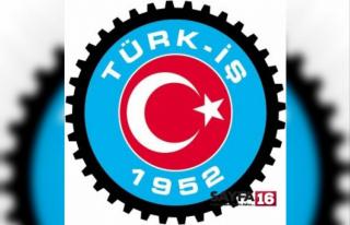 TÜRK-İŞ Başkanlar Kurulu Bildirisi açıklandı