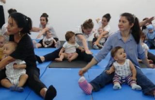 Anne-bebek pilatesi ile anne ve bebekler arasındaki...