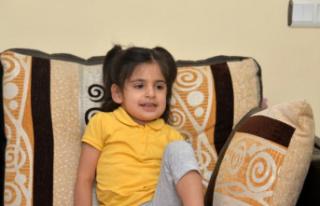 Beyincik erimesi hastası Aysima için kampanya