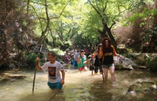 Doğa tutkunlarının Bursa'daki yeni gözdesi...