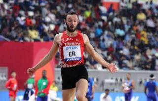 Milli atlet Necati Er, Avrupa'da 'Yılın...