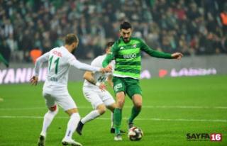 Bursaspor - Giresunspor: 2-3