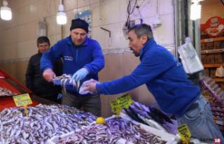 Karadeniz hamsisi 7 lira